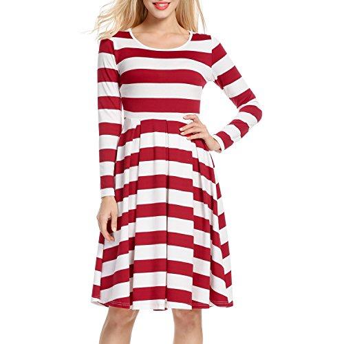 Beaded Silk Lace Pleated Dress - 6