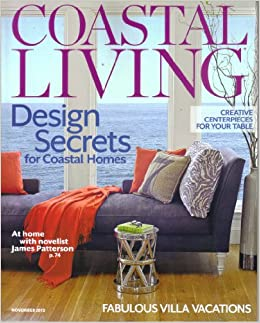 Coastal Living Magazine November 2012 (Thanksgiving By The Sea): Editor:  Amazon.com: Books