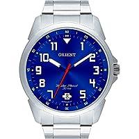 Relogio Masculino Orient Analogico - Mbss1154a D2sx - Prata/azul