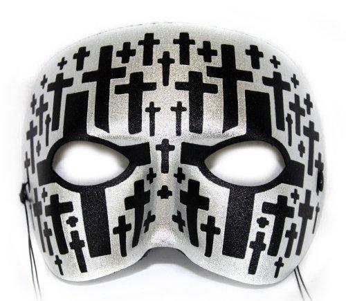 Masks For Day Of The Dead (Casanova Cemetary Men's Masquerade Mask)