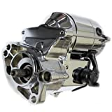 Caltric Starter Fits Harley davidson FLHS Electra Glide Sport 1340cc 1991-1993 Chrome