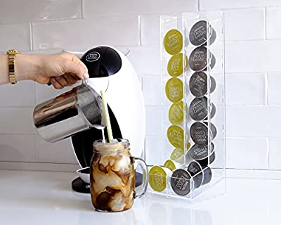 NESCAFÉ Dolce Gusto long Capsules Holder Dolce Gusto Capsules Storage 16 Units