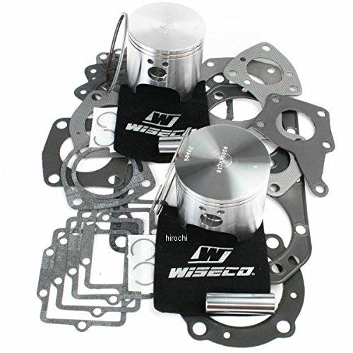 ワイセコ Wiseco 2スト ピストン フルセット 98年-02年 カワサキ JS750 752cc 80.50mm +.5mm WK1242   B01M7PEXVD