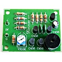 Low Battery Alarm Sensor Car 12VDC Project Kit DIY Electronic Circuit Kit : FA915