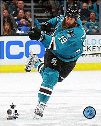 Joe Thornton San Jose Sharks 2016 Stanley Cup Playoffs Action Photo (Size: 8