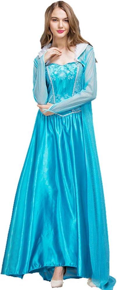 BESTSOON-TGA - Disfraz de Hada de Copo de Nieve para Adulto para ...