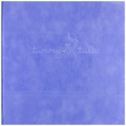 Tummy Talk Pregnancy Journal Album, Binky Blue