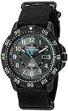 mens camper watch - Timex Men's TW4B03500 Expedition Gallatin Black/Blue Nylon Slip-Thru Strap Watch