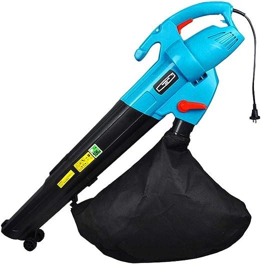 JJLL Herramientas al Aire Libre de energía 3-en-1 con Cable eléctrico sopladora/aspiradora/Trituradora, Negro/Azul (Size : with 30m Wire): Amazon.es: Hogar
