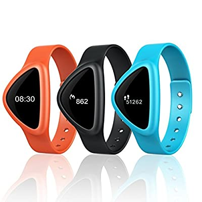 iChoice Star Bluetooth Low Energy Activity Tracker with BMI Management,Tracking Steps,Distance,Calories Burned,Fat Burned Functions