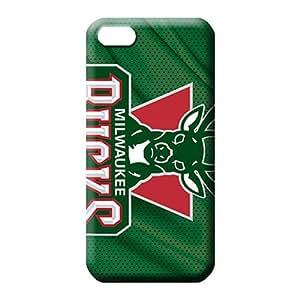 iphone 4 4s Hybrid Phone pattern mobile phone carrying skins milwaukee bucks nba basketball
