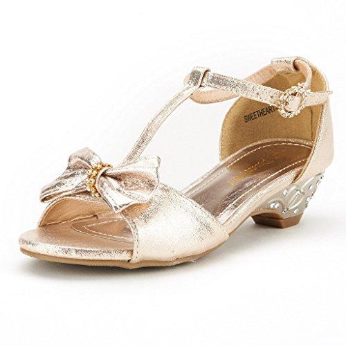 Gold Sandals Low Heel: Amazon.com