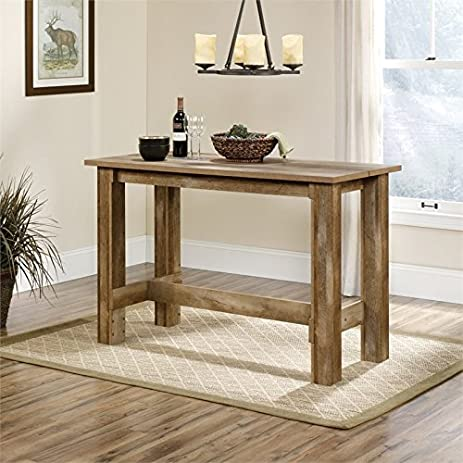 Amazoncom Sauder Boone Mountain Counter Height Dining Table in