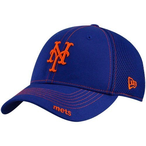 MLB New York Mets Neo Fitted Baseball Cap, Royal, Small/Medium