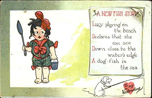 Amazon com: Child with sand toys and dog Comic Original
