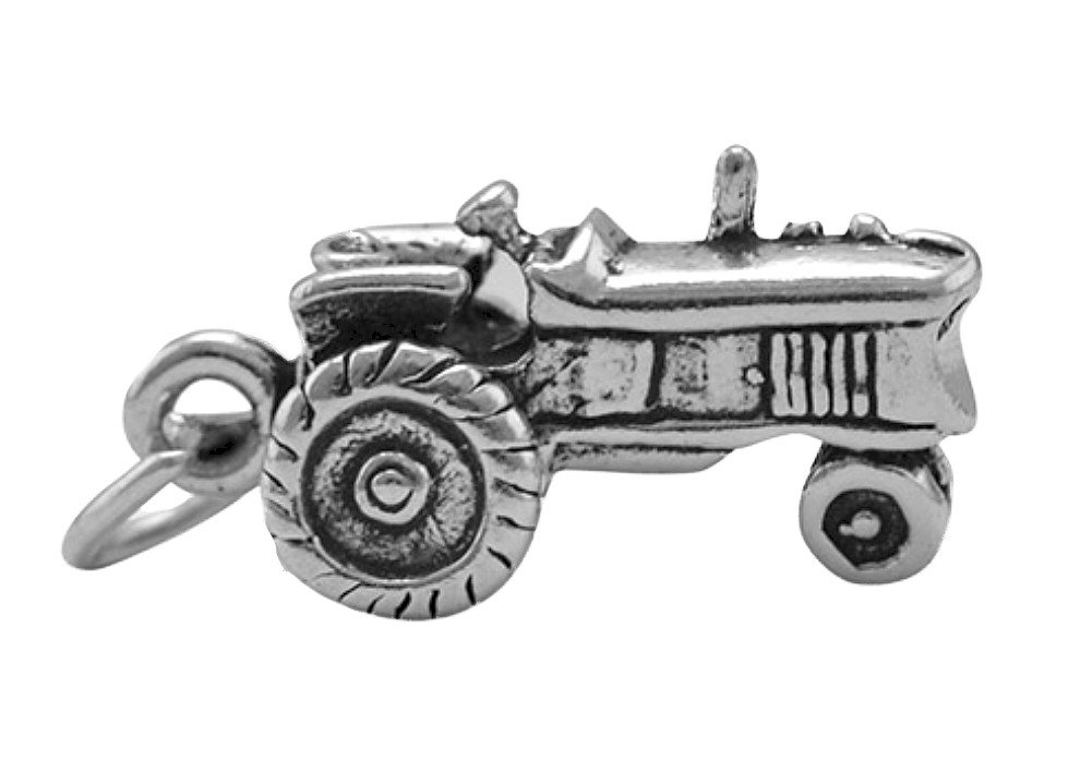 Corinna-Maria 925 Sterling Silver Tractor Charm