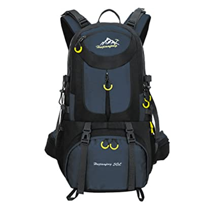 TOPKing Hiking Backpack Camping Daypack Outdoor Rucksack 50L Waterproof Travel Racksack Nylon Polyester Multifunction Durable Mountain Climbing Sports Knapsack for Men International chic