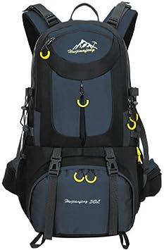 Mochila de 50 litros, ideal para deportes al aire libre, Senderismo, Trekking, Camping Travel, Escalada. Bolso impermeable del alpinismo, Daypacks que ...