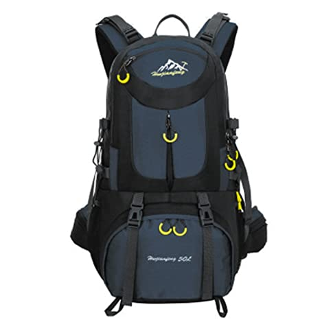 522c7760db5c UCSLIFE Hiking Backpack Waterproof for Men Backpacking Bag Travel Outdoor  Sport Daypack for Climbing Cycling Mountaineering Camping Fishing Skiing  50L(45+5) ...