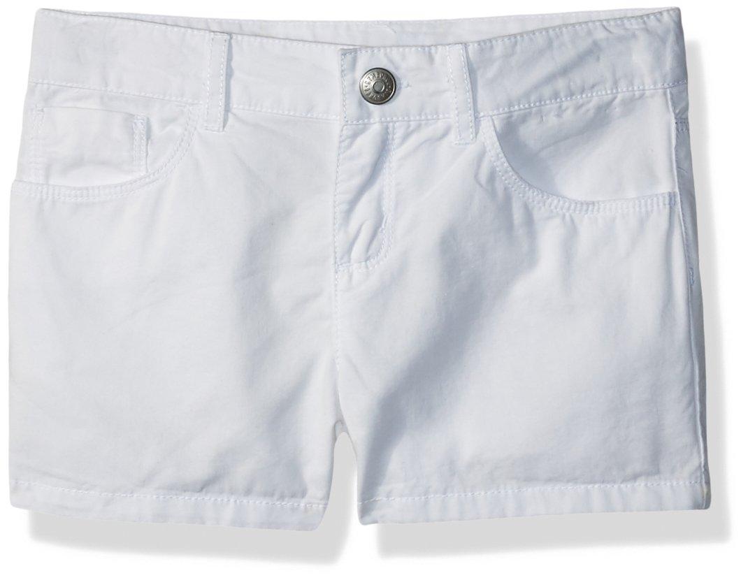 Gymboree Baby Girls Denim Shorts, White, 3T