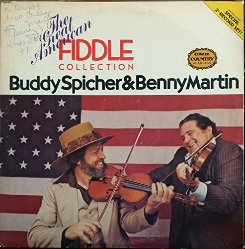 Great American Fiddle Collection - BUDDY SPICHER & BENNY MARTIN - great american fiddle collection CMH 9025 (LP vinyl record)