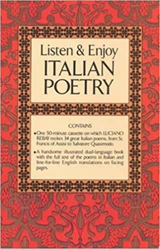 Listen & Enjoy Italian Poetry (Cassette Edition) (Dover Language
