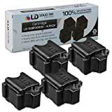 LD © Xerox ColorQube 8570 Compatible 4 Black 108R00930 / 108R930 Solid Ink ColorStix Cartridge, Office Central