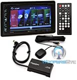 Soundstream VR-65XB In-Dash 2-DIN CD/MP3 Car Stereo Receiver with Bluetooth and SiriusXM Ready Plus SXV300v1 SiriusXM V300 Conne