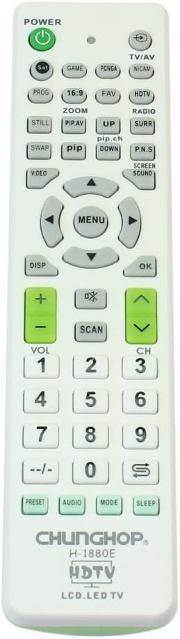 Pinzhi Todos IN 1 Televisor con control remoto universal LCD / LED TV para Sony / Samsung / Panasonic / LG / TCL: Amazon.es: Hogar