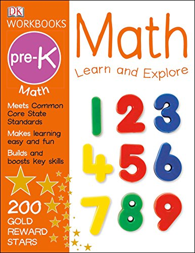 DK Workbooks: Math, Pre-K: Learn and Explore