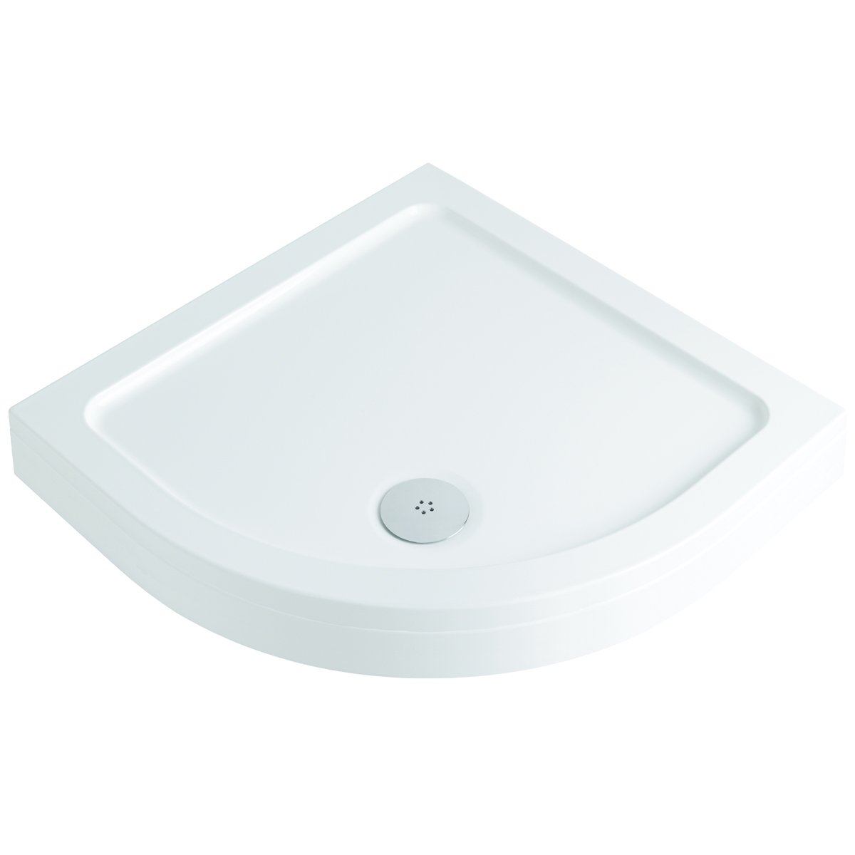 MX Elements Low Profile Stone Resin Rectangle Shower Tray 1000 x 900 Made In UK