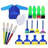 Best Kid Art Supplies - M-Aimee Painting Tools for Kids Art Supplies Set Review