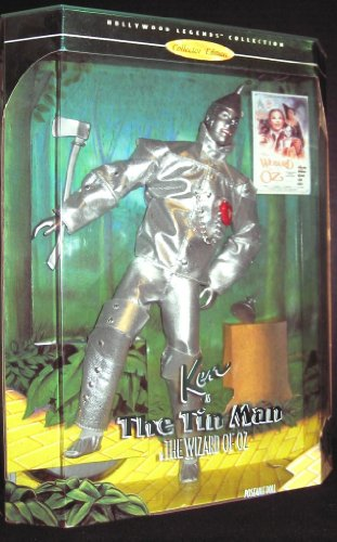 The Wizard Of Oz Heart Clock (Ken Barbie as the Tin Man, Hollywood Legends, The Wizard of Oz Collectors Edition)
