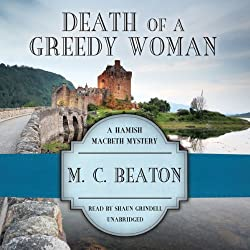 Death of a Greedy Woman