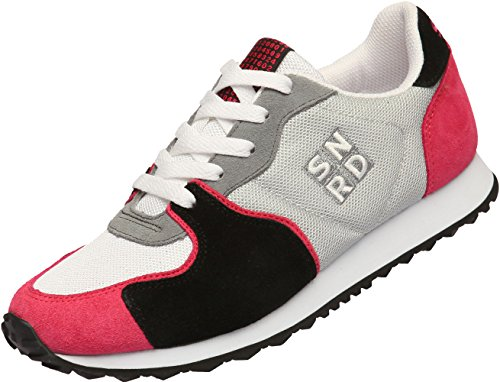 Casual Shoes Unisex Running Sports 705 Gray Pink Up Lace SNRD Sneakers fE8gx7q