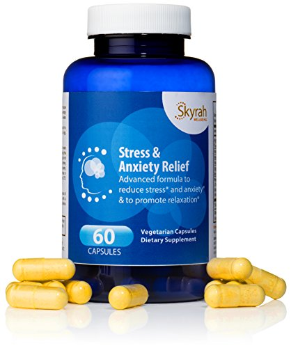 Natural Anxiety Stress Relief Supplement