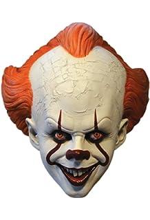 Amazon.com: Máscara de payaso aterrador de Pennywise ...