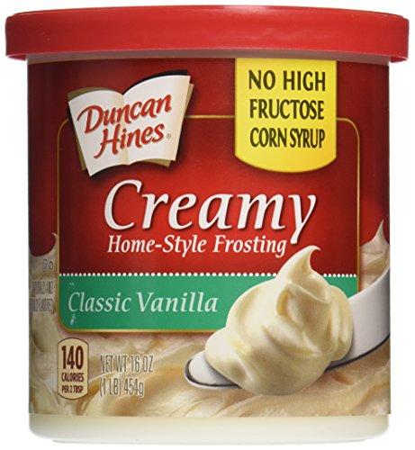 Duncan Hines Frosting Vanilla, 16 oz ()