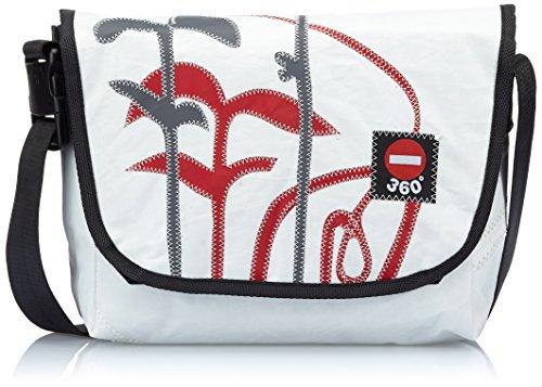 360° Borsa Messenger Paula Floral,  bianco �?bianco, 10841