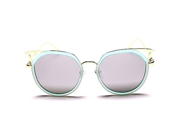 Ladies Vintage Retro Mirrored Cateye Wayfarer Polarised Shades UV400 Protective qnmKJkIBOa