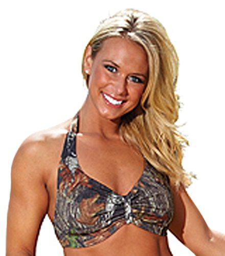 Weber Camo Leather Goods Mossy Oak Break-Up Halter Top-L
