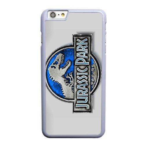 Coque,Apple Coque iphone 6 6S plus (5.5 pouce) Case Coque, Generic Jurassic Park Cover Case Cover for Coque iphone 6 6S plus (5.5 pouce) blanc Hard Plastic Phone Case Cover