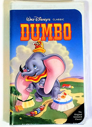 Walt Disney's Dumbo RARE Black Diamond Classic (VHS - Black Vhs