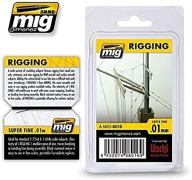 Super Fine Lines 0.01mm #8016 Ammo of Mig Jimenez 1:48 1:72 1:700 Rigging Wire