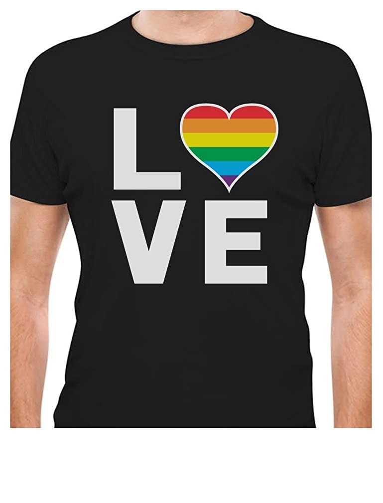 d2e6d77861 Gay Pride tee. Perfect for Pride parades, or for everyday! Trendy, brightly  colored graphics. A unique gift idea for a friend or family member.