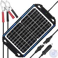 SUNER POWER Waterproof 12V Solar Battery...