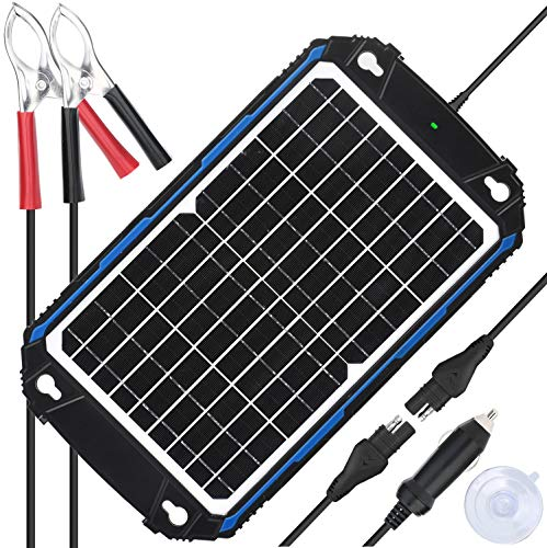 SUNER POWER Waterproof 12V Solar Battery Charger & Maintainer Pro