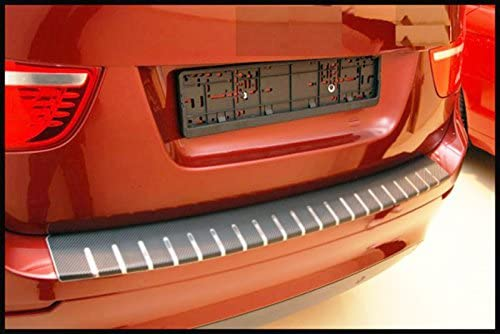 WGS Ladekantenschutz Sto/ßstangenschutz Lackschutzfolie Schutzfolie Lackschutz Carbon Chrom 3D 320/µm 1380-104