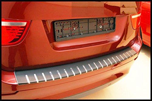 WGS Ladekantenschutz Stoß stangenschutz Lackschutz Lackschutzfolie Carbon Chrom 3D 320µ m (1133-104) WGS-Shop