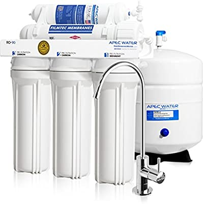 APEC Top Tier Supreme Reverse Osmosis Water Filter System